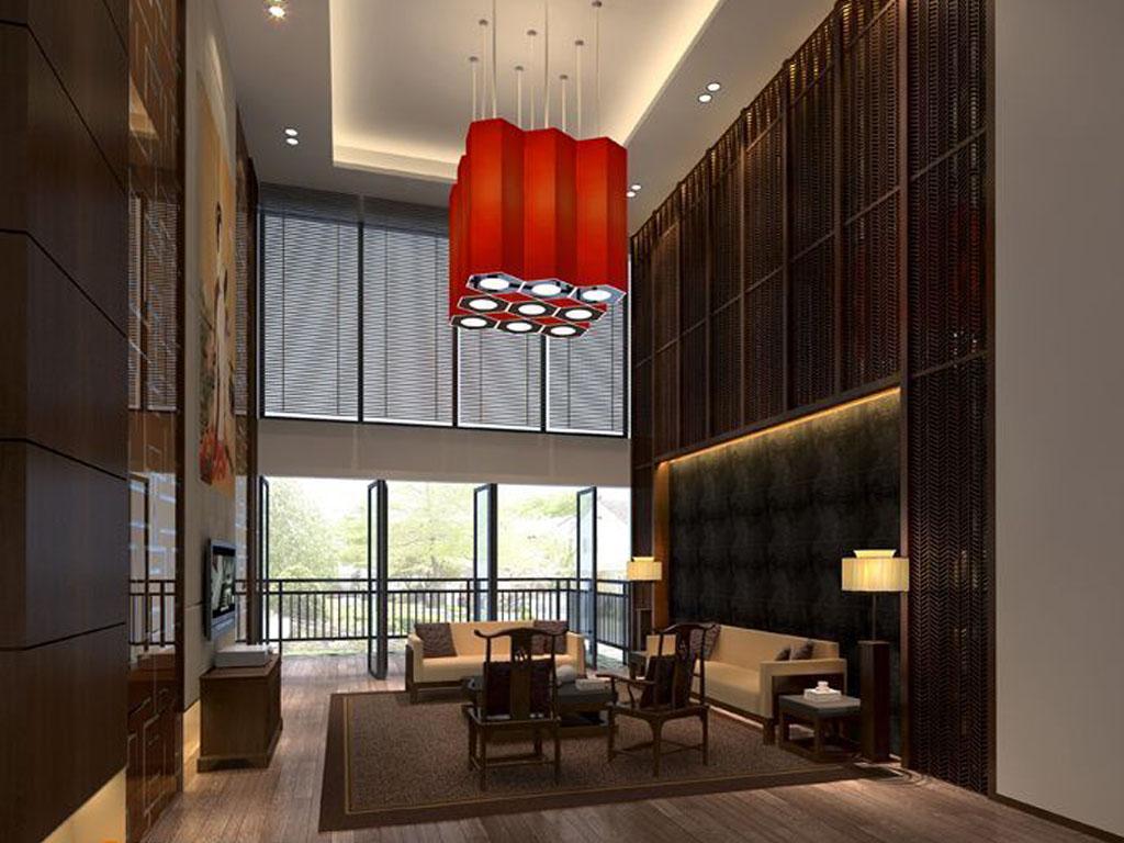 别墅式客厅 客厅 效果图,家装效果图,装修效果图,室内设计效