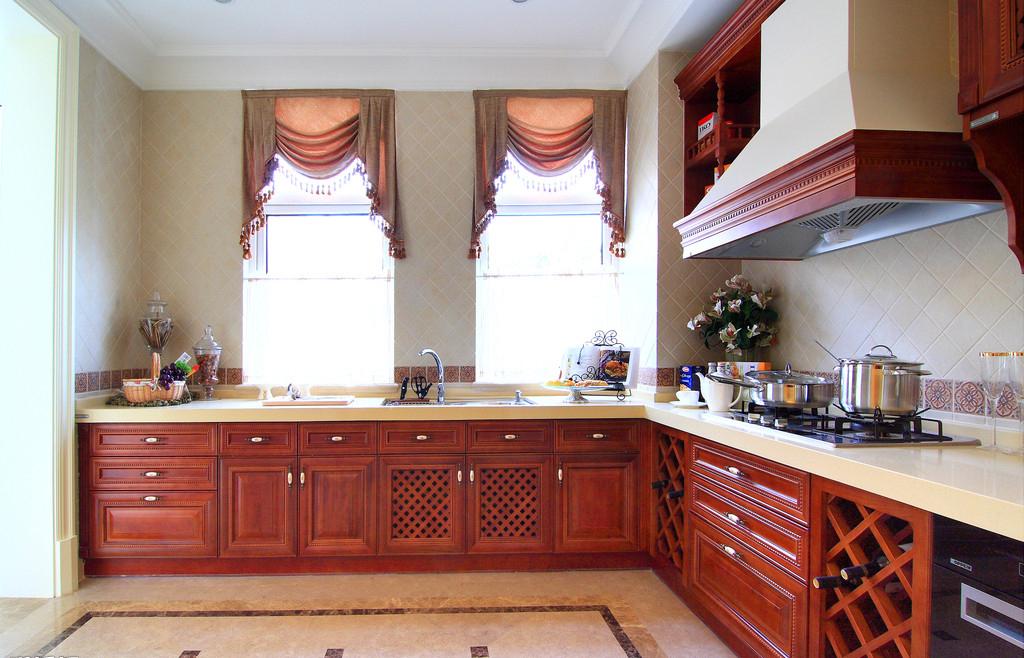 公寓式厨房 厨房,家装效果图,装修效果图,室内设计效果图,交