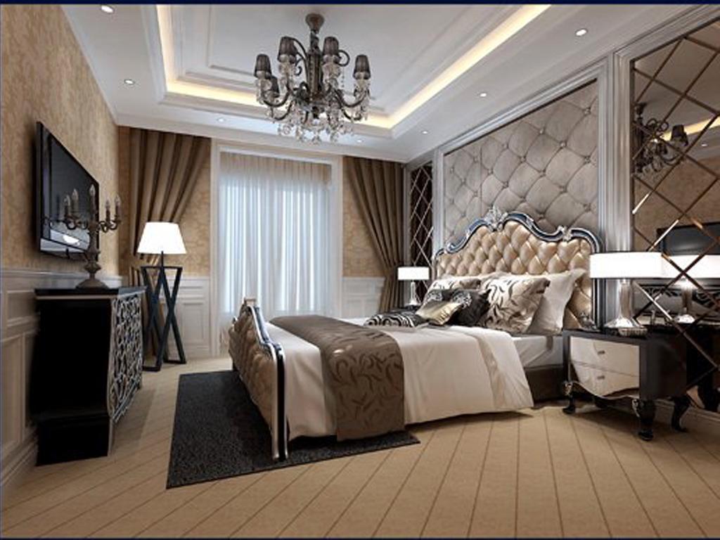 公寓式卧室效果