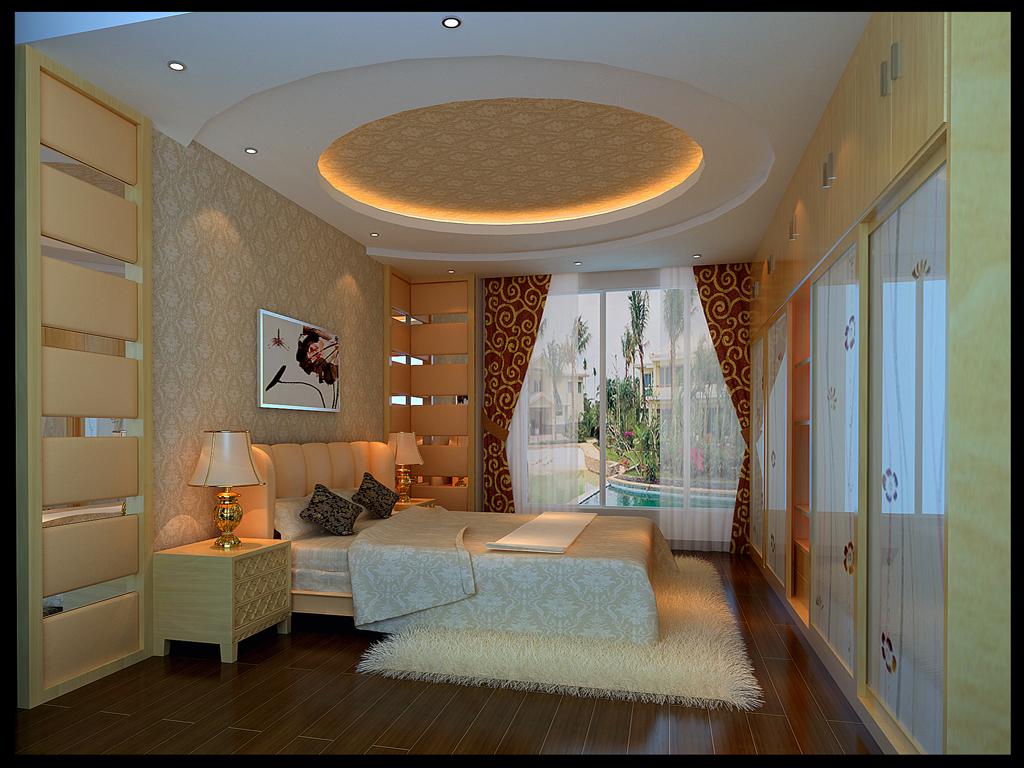 凤凰城碧桂园 卧室,家装效果图,装修效果图,室内设计效果图,